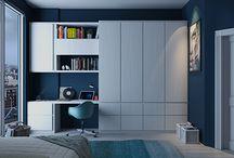 Blue&White Room