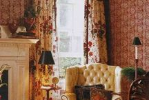 English Style &Inspiration / Learning about English Style Interiors and Exteriors / by Zaida San Gil
