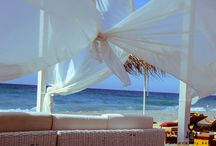 Summer / Summer moments, Summer thoughts...Baja Beach Club in Platanias, Rethymno, Crete!