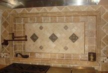 Kitchen backsplash ideas / by C's Crazy Wraps