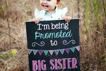 Photography - Big sister announcement