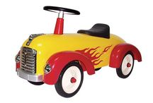 Sparkbilar / Sparkbilar i plåt till barn - Stilrum.se