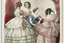 1850s Fashion Plates