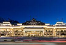 Architecture / Magic architecture of Sochi Casino & Resort building in the year-round Gorky Gorod Resort