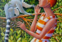 Oil paintings by June / Painting in oils