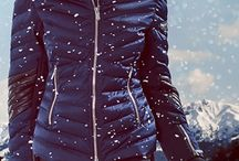 Warm clothes for snow season