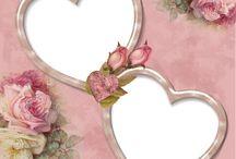 decoupage frames & tags