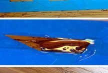How to fill voids and holes in wood