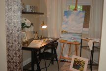 Fine Art Gallery & Art Studios / by MacMurray Designs - Renee' MacMurray
