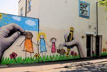 art/street art / by Beth Fornal Bescoe