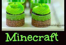 Mine craft party / by Tina Speak Wawzysko