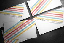 Business cards / névjegykártyák