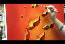 Bloem painting