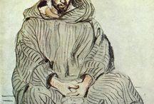 arte - Eugene Delacroix (1798-1863) / arte - artista e pittore francese