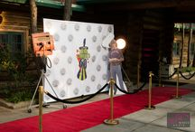 """60th Birthday Party Like a Rockstar / Guest walked the red carpet and partied like rockstars, at this Five Oaks Lodge event in celebration of Chris Cadieux's 60th Birthday.  Invitations were actual plastic """"Backstage passes"""" and guests were instructed to bring them in order to gain entrance into the party. The space was decorated with lots of heavy velvet, mixed with loose lace, airy chiffon, sequins, and eclectic, just like a backstage would be. Five Oaks Lodge did a fabulous job in pulling this party together!"""