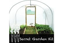 Gardening Kits / Our school kits come with a class veg pack and educate children's on growing and eating, also giving them skills. / by Total Polytunnels