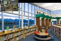 School Library Learning Commons / Inspiration for design that fosters curiosity and enables collaborative knowledge-building in the school library learning commons.