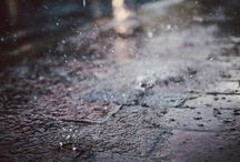 ↠ rainy days.