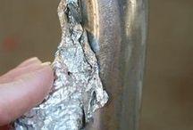 alüminyum folyo ile yapılanlar