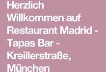 Restaurant Tapas Bar Madrid