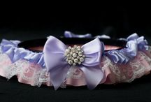 Princess garters / Princess garters available for purchase at www.bbeautyprincessbridal.com