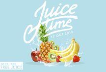 Fruit poster desain