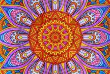 Zentangle: Křivé čáry na papíře / Kreslení inspirované Zentangle