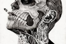 facing  tatoos