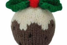 Christmas pudding knitting patterns