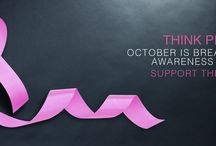 Think Pink / Think Pink   October is Breast Cancer awareness month.    Algedra Interior Design 800ALGEDRA 8002543372 www.algedra.ae
