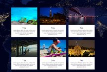 Travel Website - Custom Designed