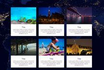 Travel Website - Custom Designed
