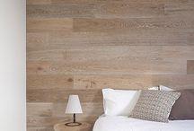 inspirace dřevěný obklad