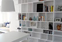 ESTANTERIAS / Inspiración de estanterias