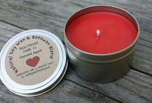 Back2TheWell / Our handcrafted soy wax candles, soaps, lip balms, sugar scrubs and aromatherapy products.