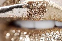 lips, lipsticks and eye makeup