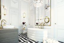 Bathroom modern meets tradition / Bathroom