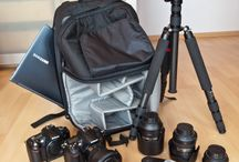 Photography gear / Gadgets and gear we'd love to have to express that creative side, capture moments, and have fun with.