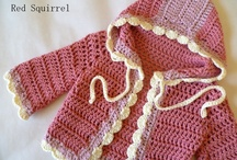 crochet baby bluse pige