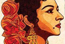 ilustraciones flamencas