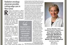 Fighting Cancer-One Patient At A Time / Dr. Anne McCall provides cutting-edge care in New Lenox, IL