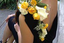 Hochzeit - Blumenbroschen
