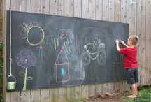 outdoor spaces for kids / by Jema Urlich-Howell