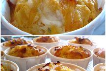 Muffins oignons caramélisés
