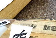 Skryf op hout