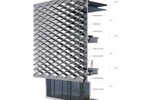 Gradient facade