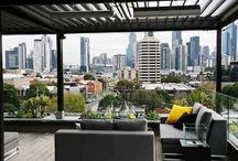 142 Park Street, CONTEMPORARY DECK- / Inspiration for a small contemporary rooftop balcony deck with a pergola