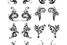 Henna tattos