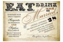 Weddings - Stationery - Invitations / by Liza