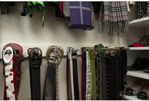 Organise Wardrobe Accessories / Organising wardrobe accessories home storage belts shoes scarves